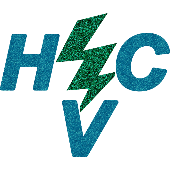 High Voltage Cheer Logo