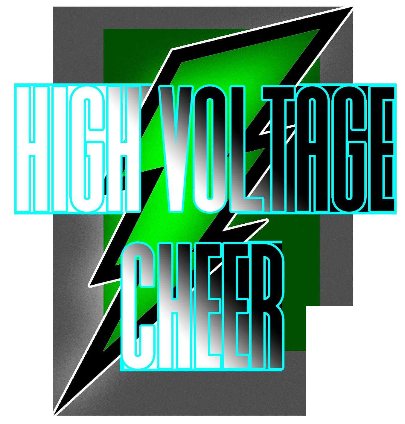 High Voltage Cheer Logo